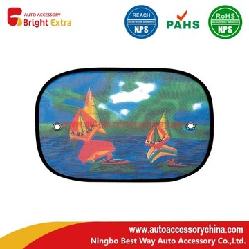 OEM Manufacturer for Nylon Mesh Car Sunshade Universal Fit Car Side Rear Window Sun Shade export to Seychelles Importers