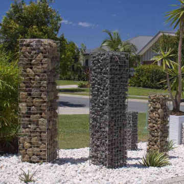 Welded Gabion Box for Landscaping Decorate Wall