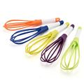 "11.5"" folding plastic whisk"