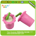 kids gift set pink drinks eraser for toys