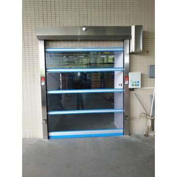 Industrial Fabric Self Repair Action Rolling Shutter Door