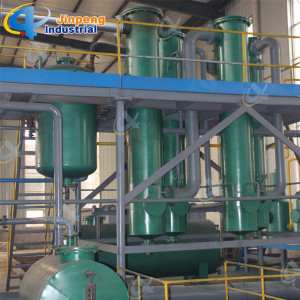 Machine of Pyrolysis Tyre Oil