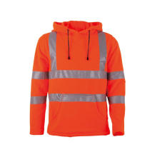 Custom Mens Hooded Winter Hi Vis Jacka