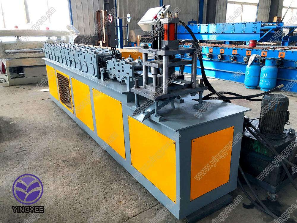 Roller Shutter Slate Roll Forming Machine From Yingyee06