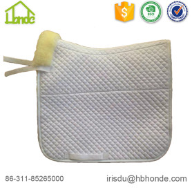 Equestrian Horse Sports Dressage Sheepskin Saddle Pad