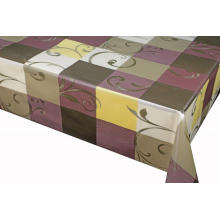 Elegant Tablecloth with Non woven backing Oblong