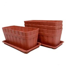OEM/ODM for Plastic Injection Parts Plastic Flower pot Planter for Garden Decoration supply to Brazil Manufacturer