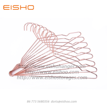 EISHO Rose Gold Copper Chrome Metal Wedding Hanger