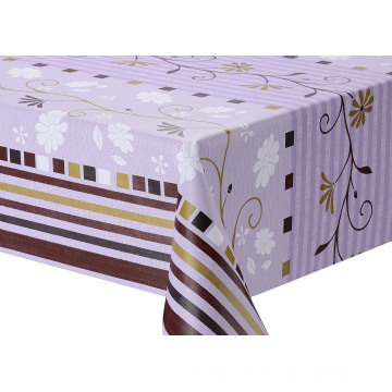 Elegant Tablecloth with Non woven backing Suppliers