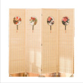 Wood restaurant decorative room divider 4 panels