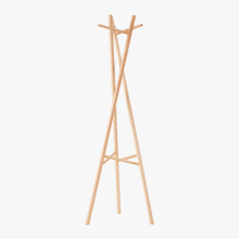 Personlized Products for Cloth Rack Portable Wooden Cloth Coat Rack supply to Tonga Manufacturers