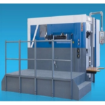 Semi automatic die cutting creasing machine