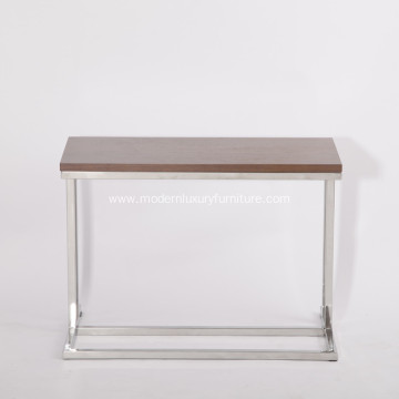 Light MDF Leger Side Dining Table