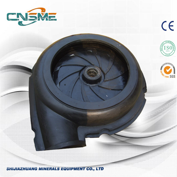 R55 Black Rubber Impeller