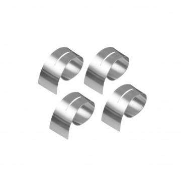 stainless steel napkin ring 4pcs