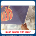 Large Mesh Banner with Keder Edge