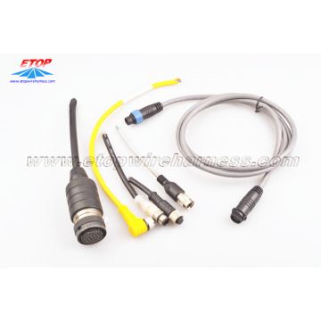 Factory Price for China Molded Waterproofing Cable Assemblies,Waterproof Wire Harness Manufacturer and Supplier Waterproof Molded IP68 Connector export to Portugal Suppliers