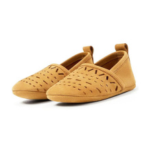 Genuine Leather Hollow Out Newborn Baby Dress Shoes