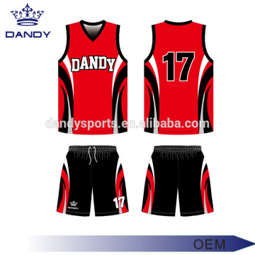 Online Exporter for Sublimation Basketball Jersey custom design available basketball training kit export to Togo Exporter