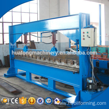 Fast speed one year warranty metal sheet gutter bending machine