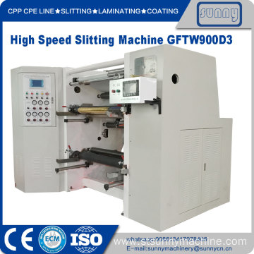 High Quality for Film Slitting Machine OPP CPP Ffilm Slitter and Rewind Machine export to South Korea Manufacturer