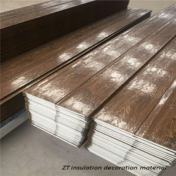 Exterior decorative insulationPU wood effect wall panels