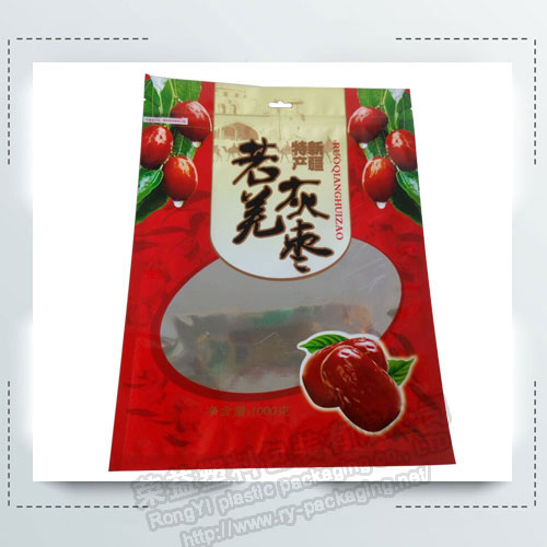 Red Jujube Plastic Packing Bag