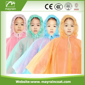 Colorful Kids PE Poncho