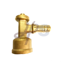 Brass PEX male tee fitting