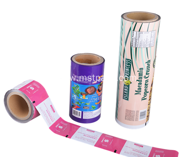 Food Grade Plastic Roll Film With Window