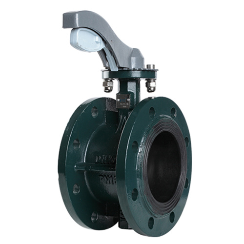 Middle-line soft seal Butterfly valve by flange