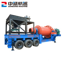 High Quality Mobile Portable Ball Mill Machine
