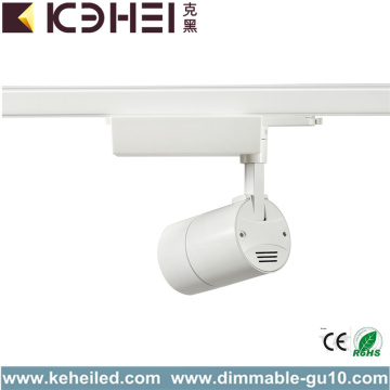 COB White Black 35W LED Track Lights Adjustable