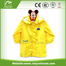 100% Waterproof Polyester Child Raincoat