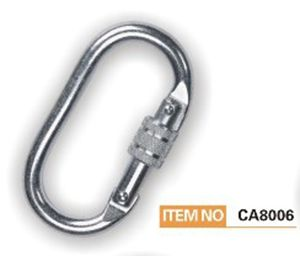 Reinforced Carabiner TUV 25KN for Safety Harness