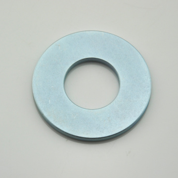 N35H larger ring neodymium magnet with coating Zinc