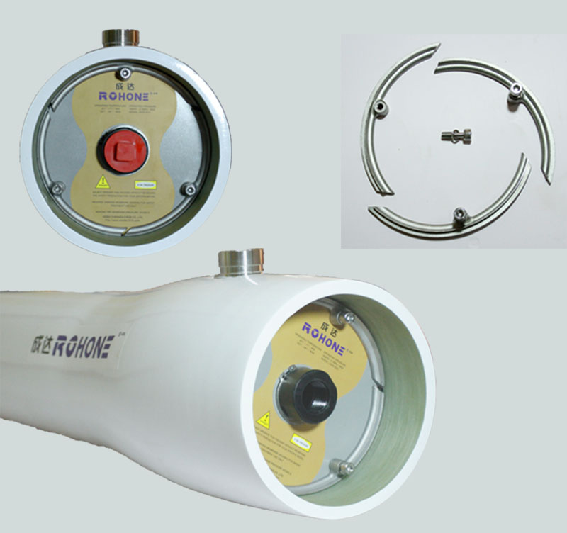 FRP membrane housings for RO system