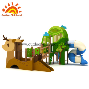 Wooden slide playhouse for sale