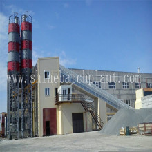 High Efficiency 120  Concrete Mix Plants