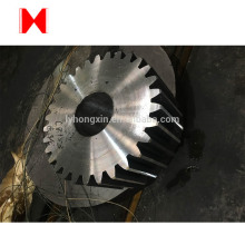 Customized Casting Carbon Steel huge spur gear