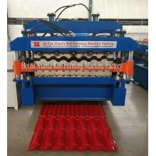 China New Product for Roman Glazed Tile Double Deck Roll Forming Machine,Glazed Double Layer Forming Machine,Glazed Double Deck Making Machine Manufacturer in China Panel Glazing Ceramic Tile Roof Roll Forming Machine supply to Kazakhstan Importers