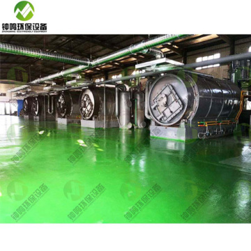 Low Temperature Pyrolysis of Solid Waste Plastic Bags to Fuel PPT