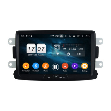 Android 9.0 car dvd player per Duster