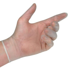 Disposable Clear  Vinyl Gloves