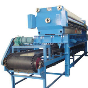 Paper Industrial Dewatering Plate And Frame Filter Press