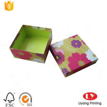 Top and bottom paper box for gift packaging