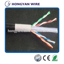 23awg CU/CCA Cat 6 outdoor lan cable