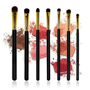 7pcs professional eye brushes set Eyeshadow brushes Blender