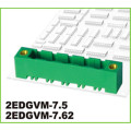 7.62mm Pitch Connector PCB Pluggable Terminal Blocks 3way