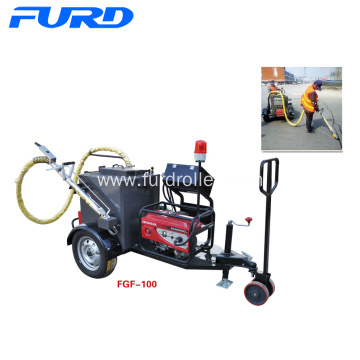 100L trailer type asphalt crack sealing machine